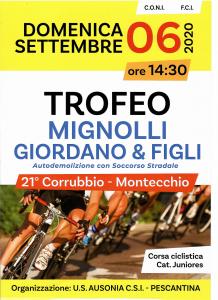 Trofeo Mignolli Giordano e Figli